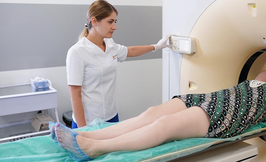 КТ грудного отдела позвоночника